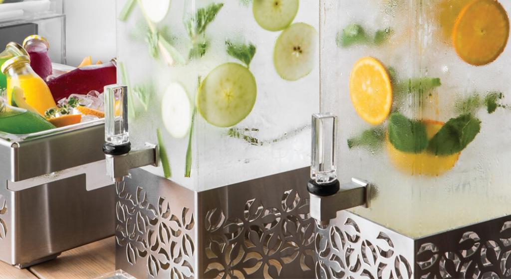 Rosetto Iris Beverage Dispensers