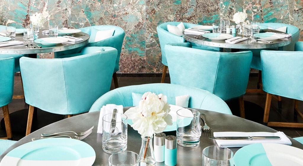 Tiffany's Blue Box Cafe