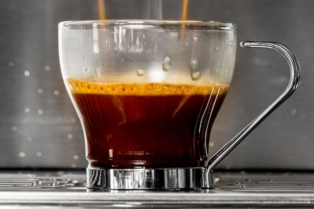 An espresso shot.