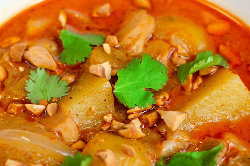 Thai massaman curry.